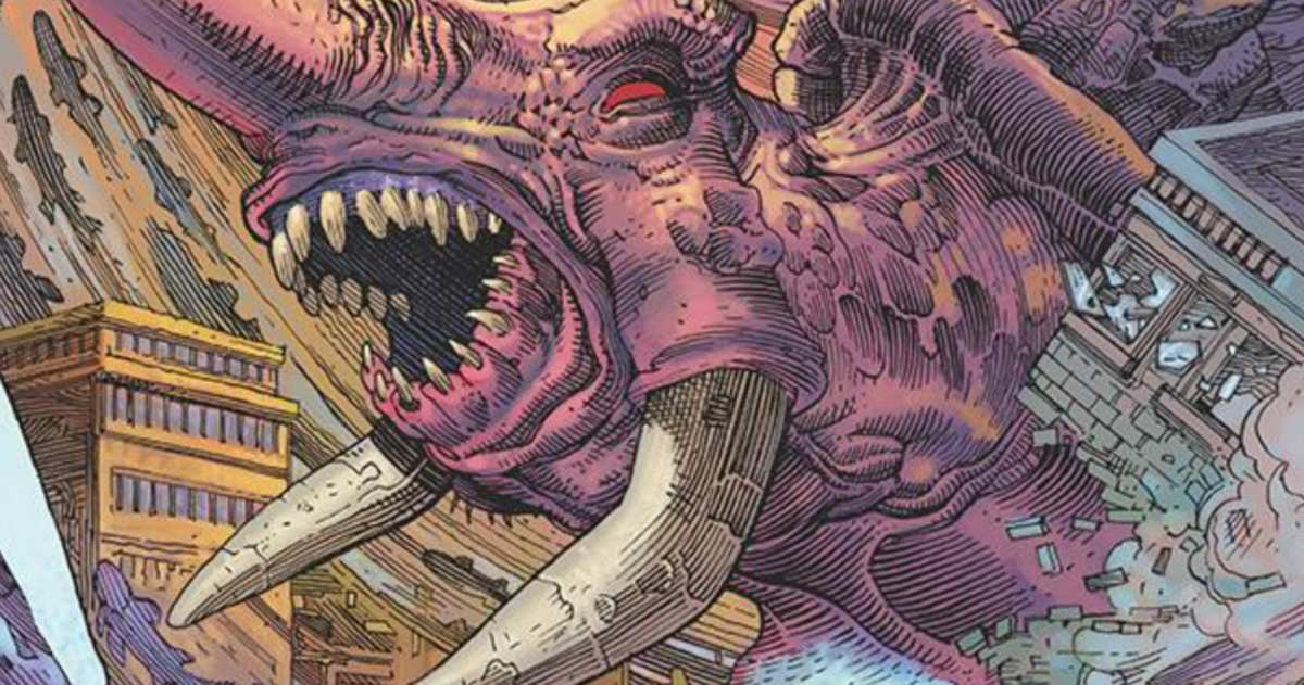 Comic Reviews - The Kaiju Score #1