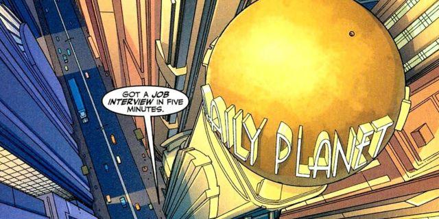daily planet dc comics