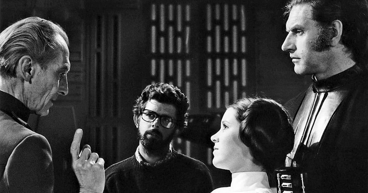 David Prowse George Lucas Star Wars
