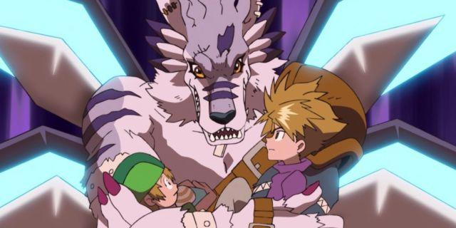 Digimon Adventure WereGarurumon Sagittarius Mode Upgrade New Form Watch Anime