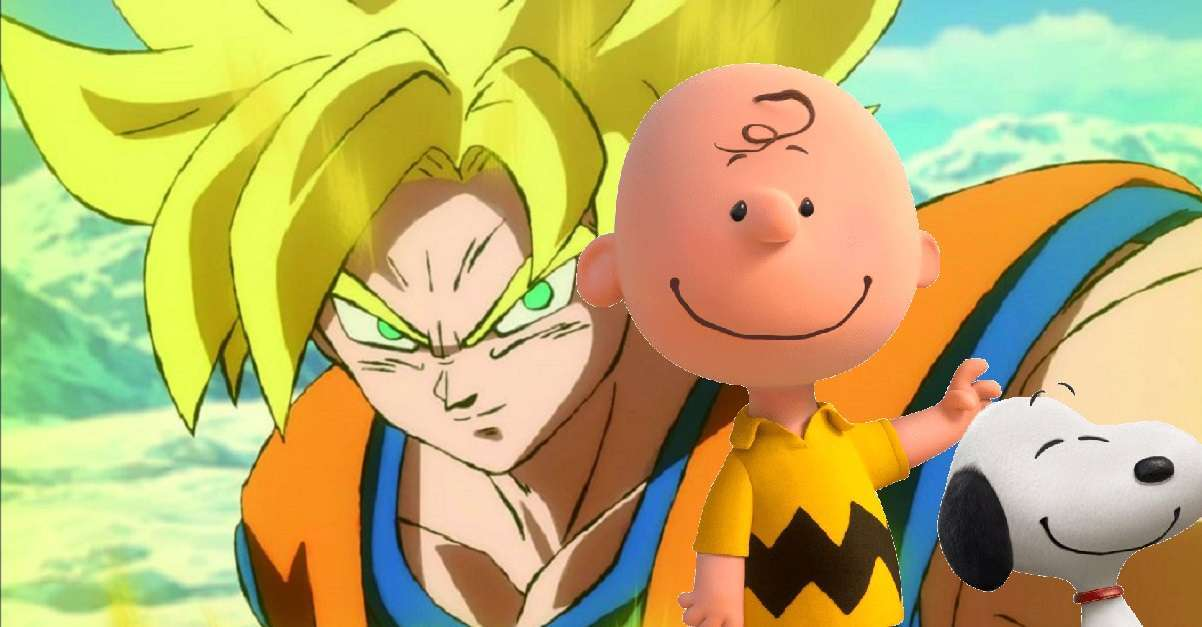 Dragon Ball Charlie Brown Crossover