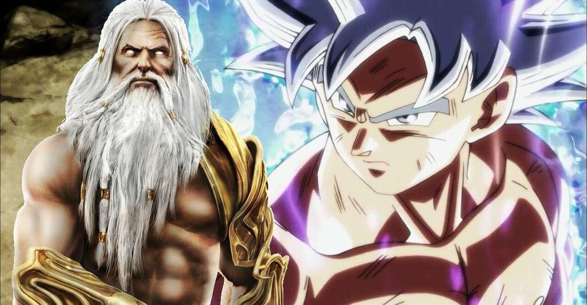 Dragon Ball Goku Greek Gods