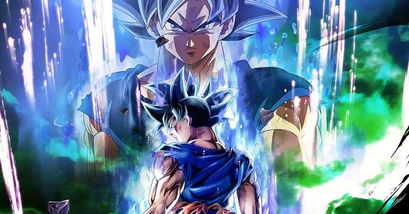 Dragon Ball Legends Ultra Instinct Goku Art