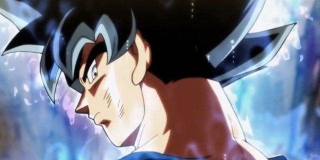 Dragon Ball Super Goku Ultra Instinct Sign