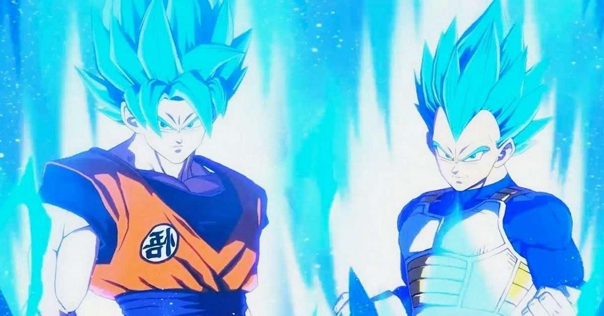 Dragon Ball Super Old Man Goku and Vegeta