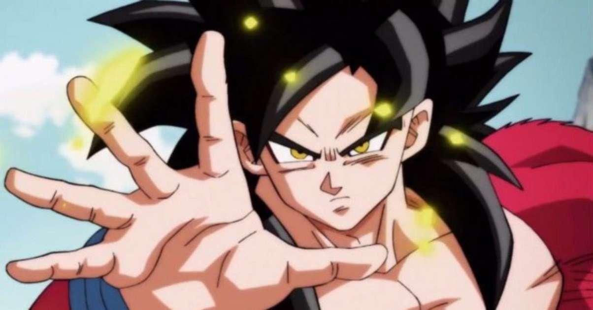 Dragon Ball Super Saiyan 4 Anime