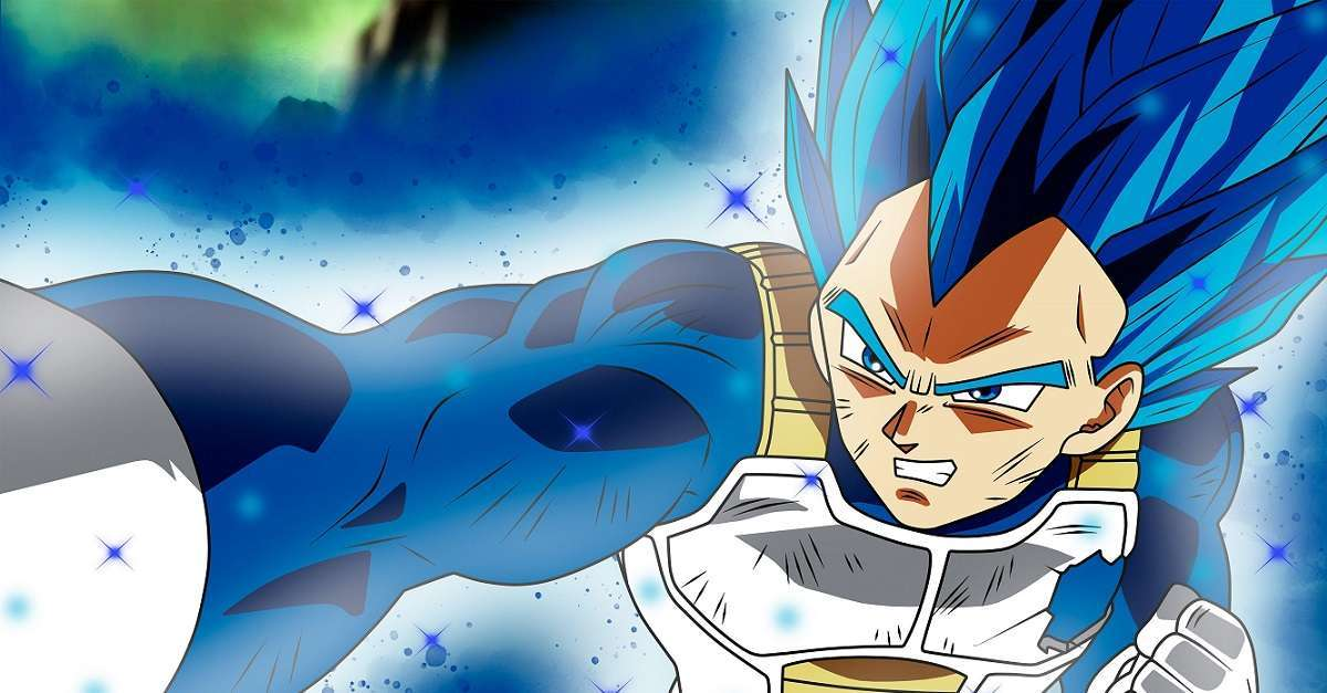 Dragon Ball Super Vegeta Evolution