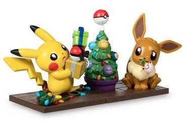 Eevee and Pikachu Funko