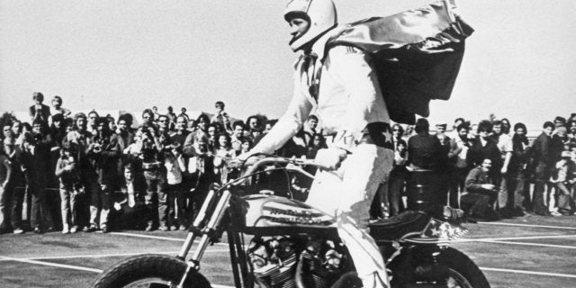 evel Knievel bike motorcycle