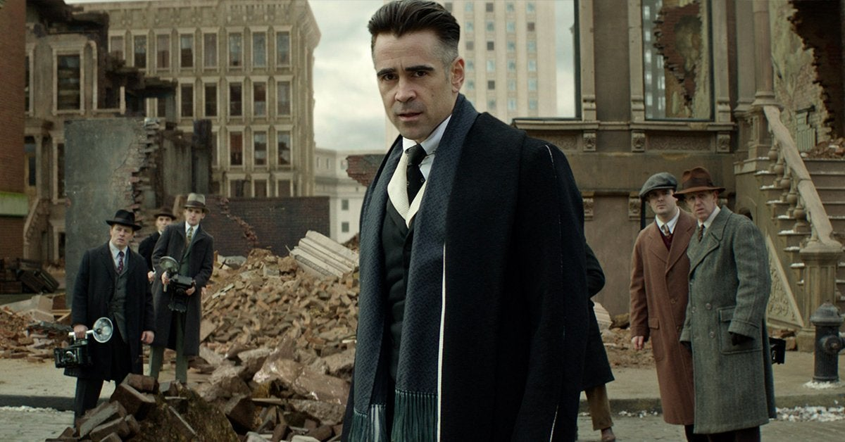 fantastic beasts colin farrell percival graves grindelwald