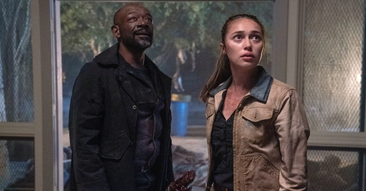 Fear the Walking Dead season 6 Lennie James Alycia Debnam Carey