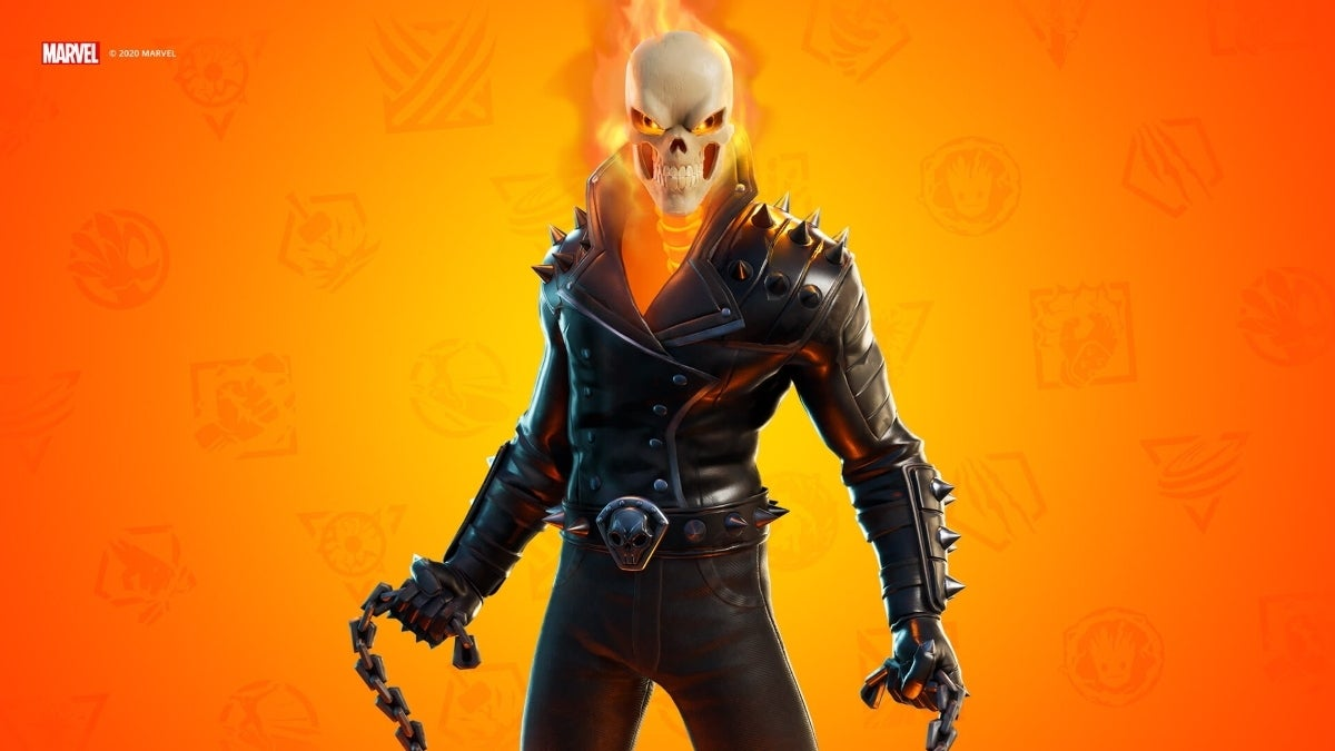 fortnite ghost rider reveal new cropped hed