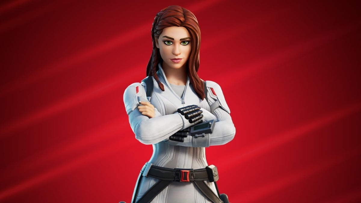 fortnite new black widow new cropped hed