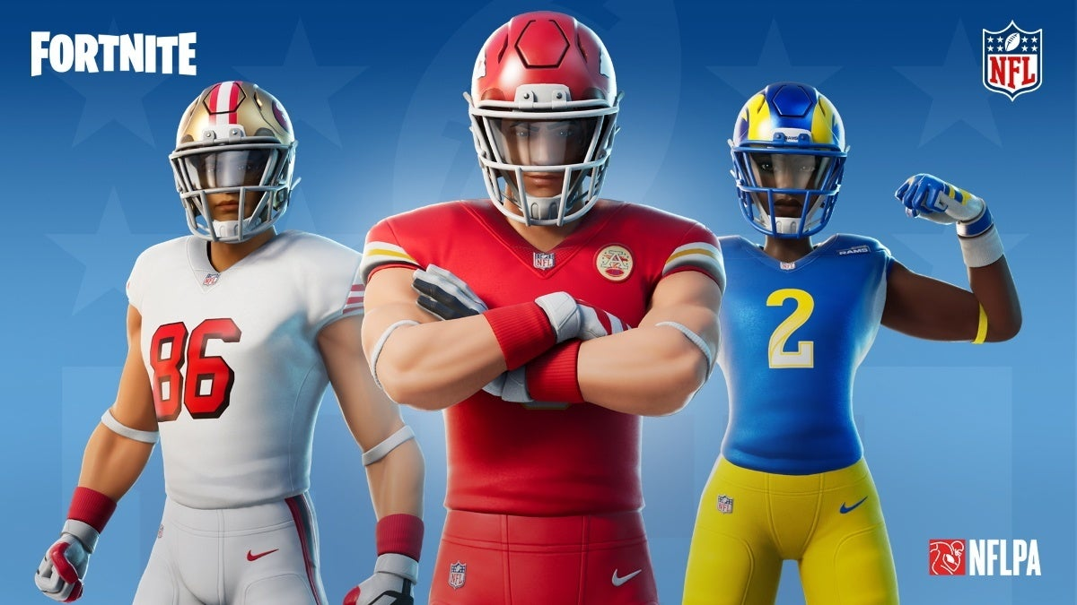 fortnite nfl skin redesign new cropped hed