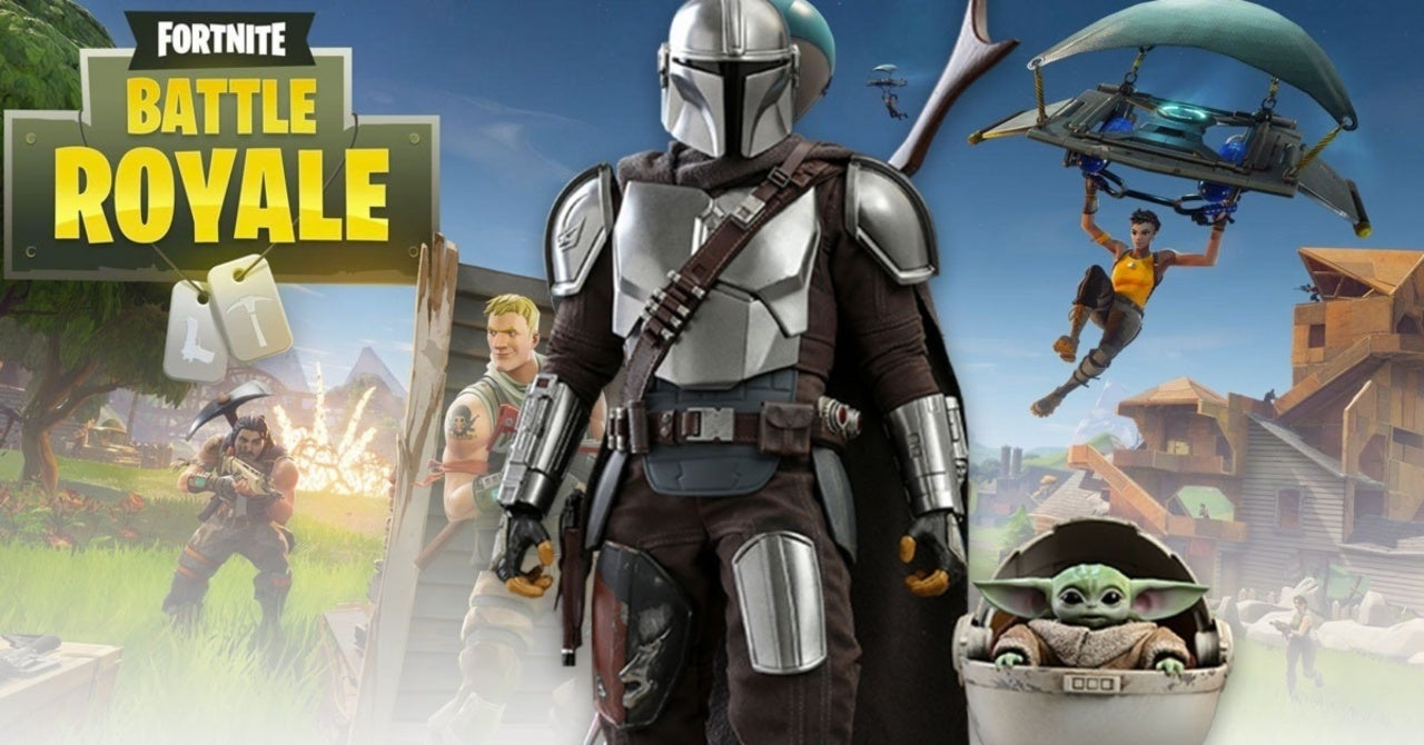 Fortnite Mandalorian Baby Yoda Rumored For Season 5 The mandalorian is set after the fall of the empire and before the emergence of the first order. fortnite mandalorian baby yoda