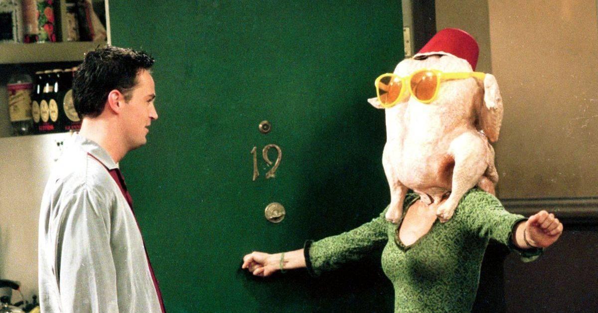 friends courteney cox monica turkey thanksgiving