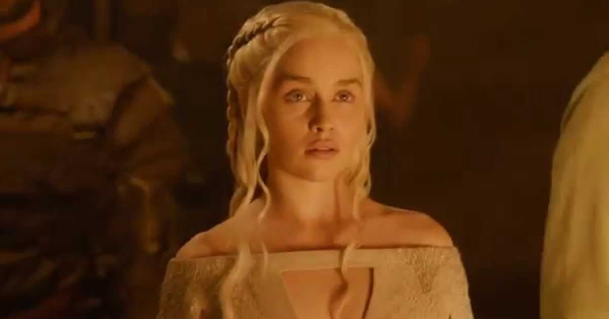 game of thrones emilia clarke daenerys targaryen season 5 episode 5 kill the boy