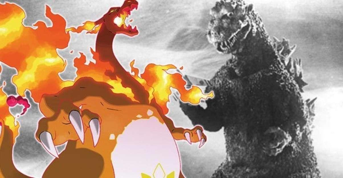 Godzilla Pokemon