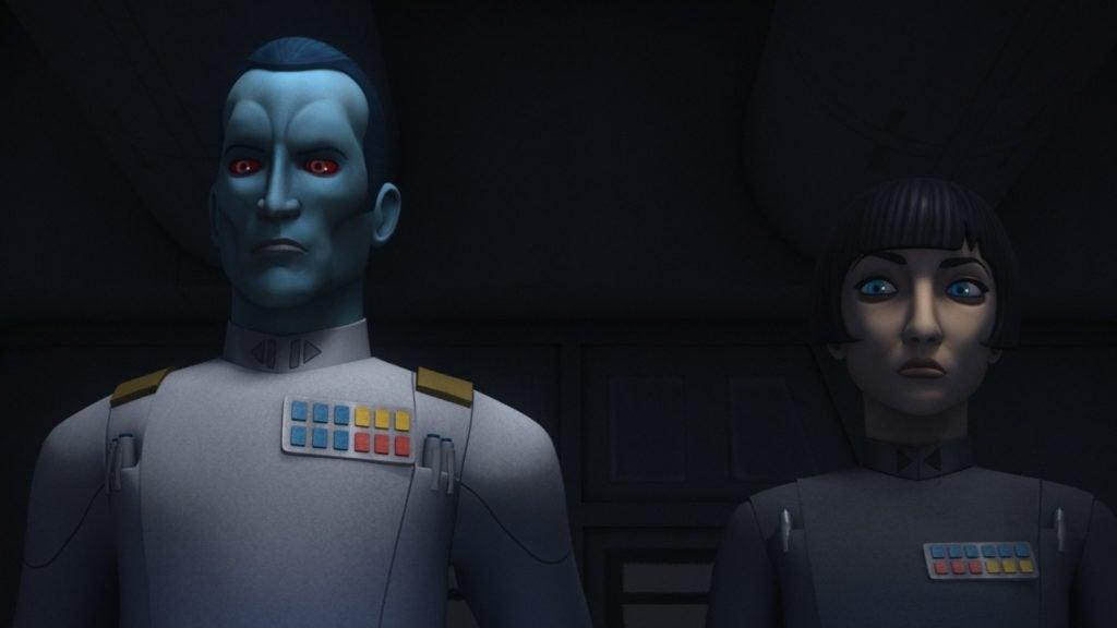 Grand Admiral Thrawn Seventh Fleet The MAndalorian