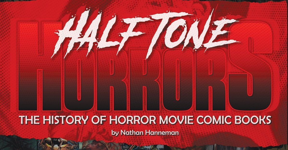 halftone horrors book comic