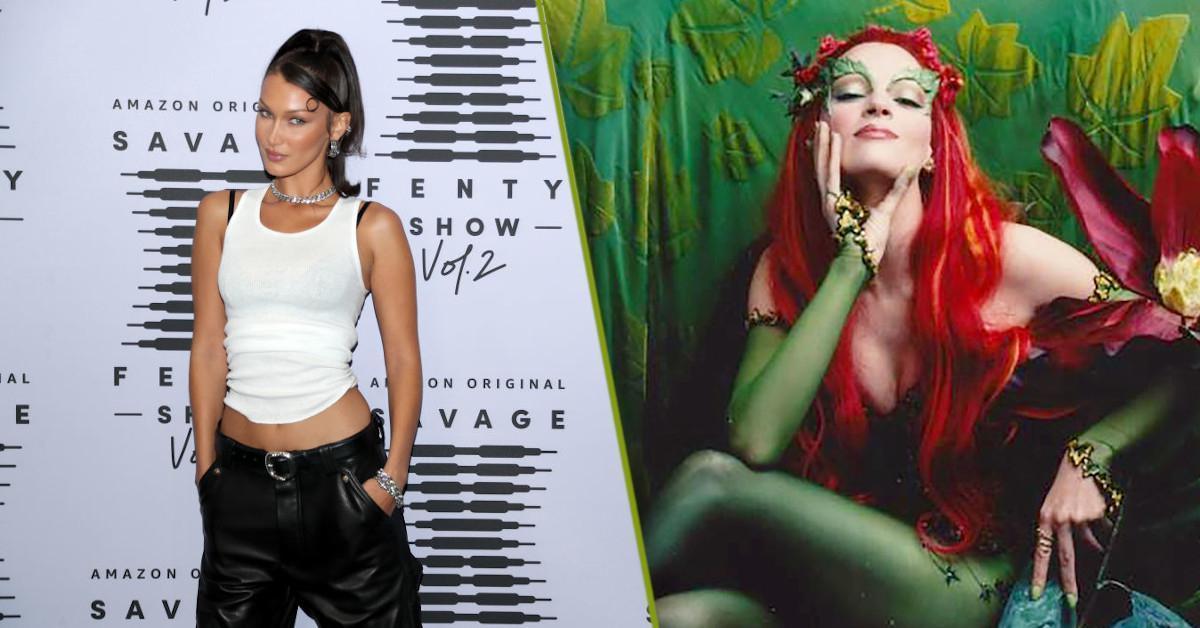 Halloween 2020 Bella Hadid Poison Ivy