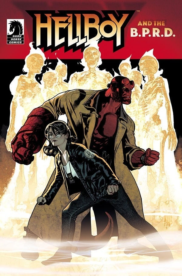 hellboy and the bprd the seven wives club #1