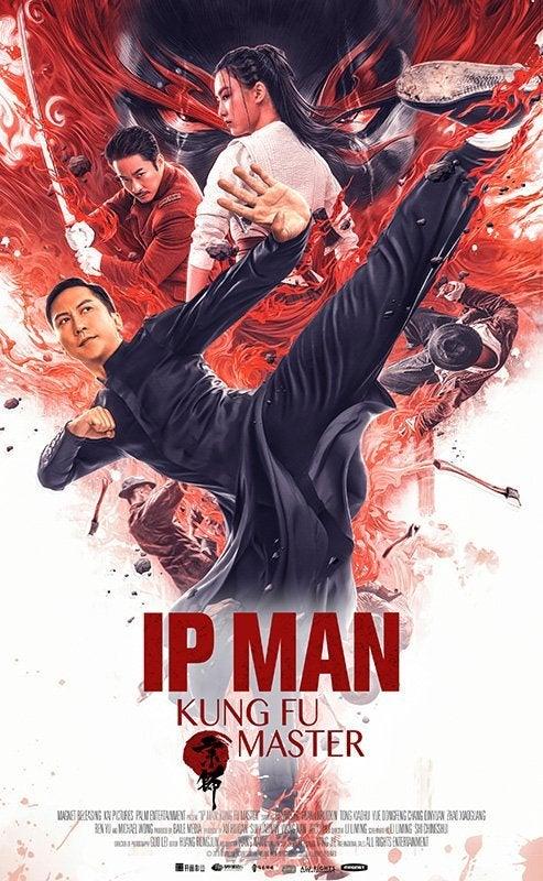 ip man kung fu master poster