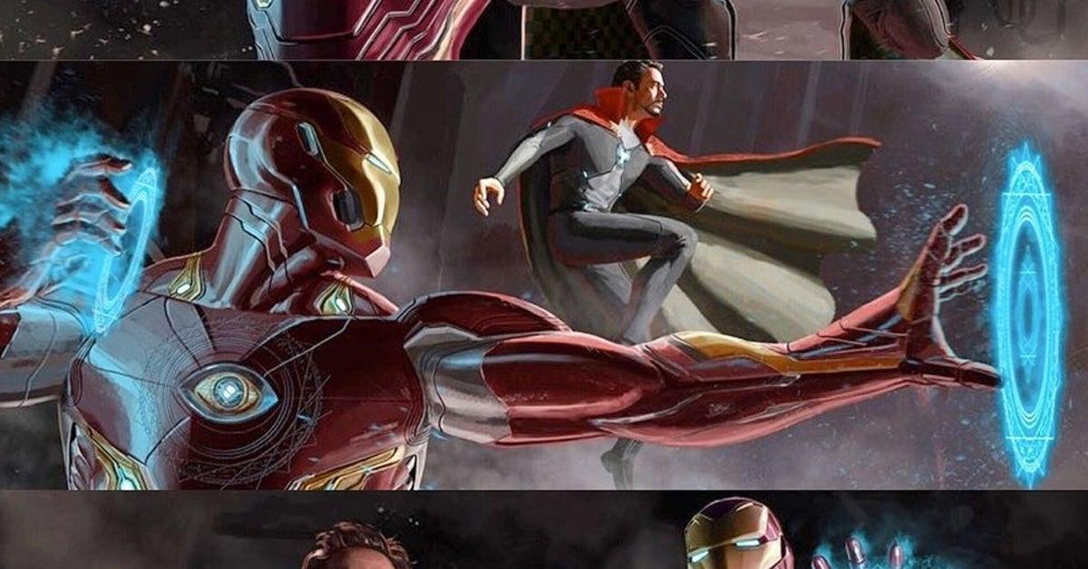 iron man doctor strange flipped roles