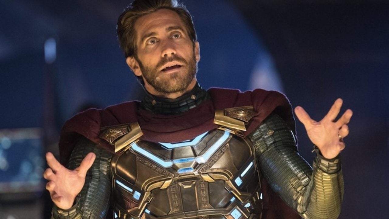 jake gyllenhaal mysterio spider-man far from home