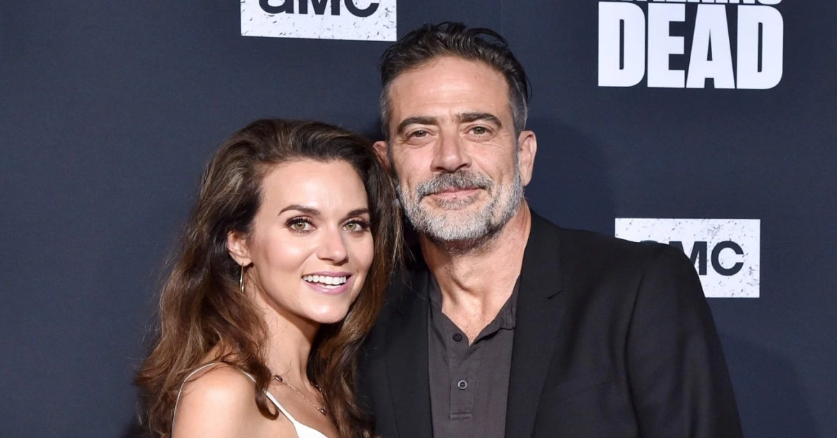 Jeffrey Dean Morgan Hilarie Burton Morgan Photo Axelle Bauer-Griffin FilmMagic