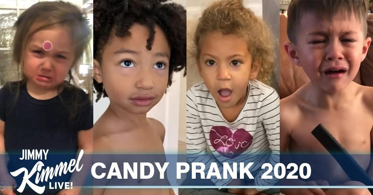 Jimmy Kimmel Halloween Candy Prank Youtube Video 2020