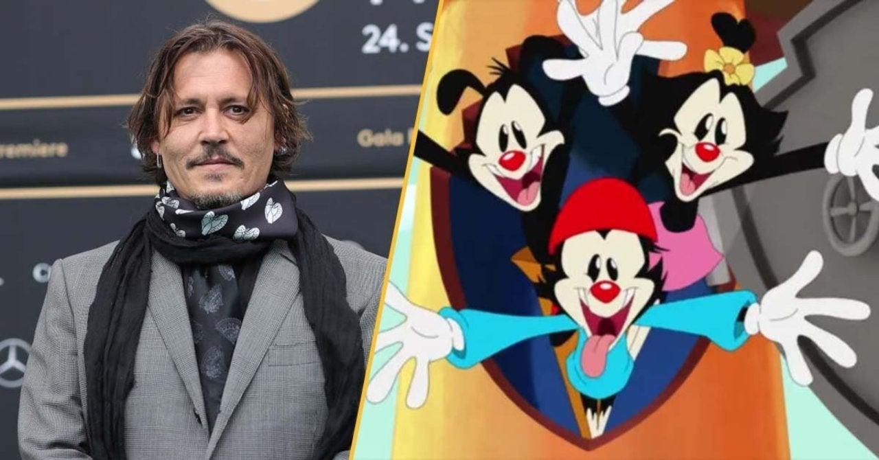 Johnny Depp Fans Outraged Over Animaniacs Joke