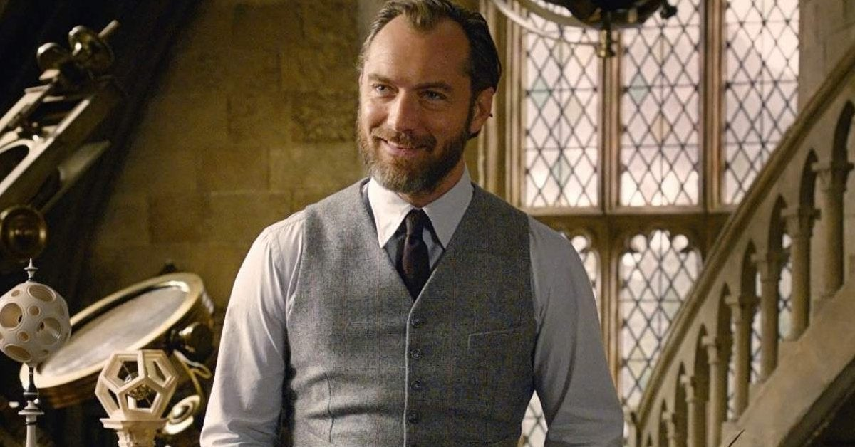 jude law dumbledore fantastic beasts