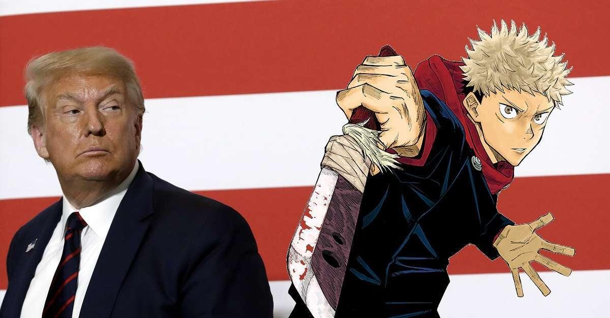 Jujutsu Kaisen Donald Trump