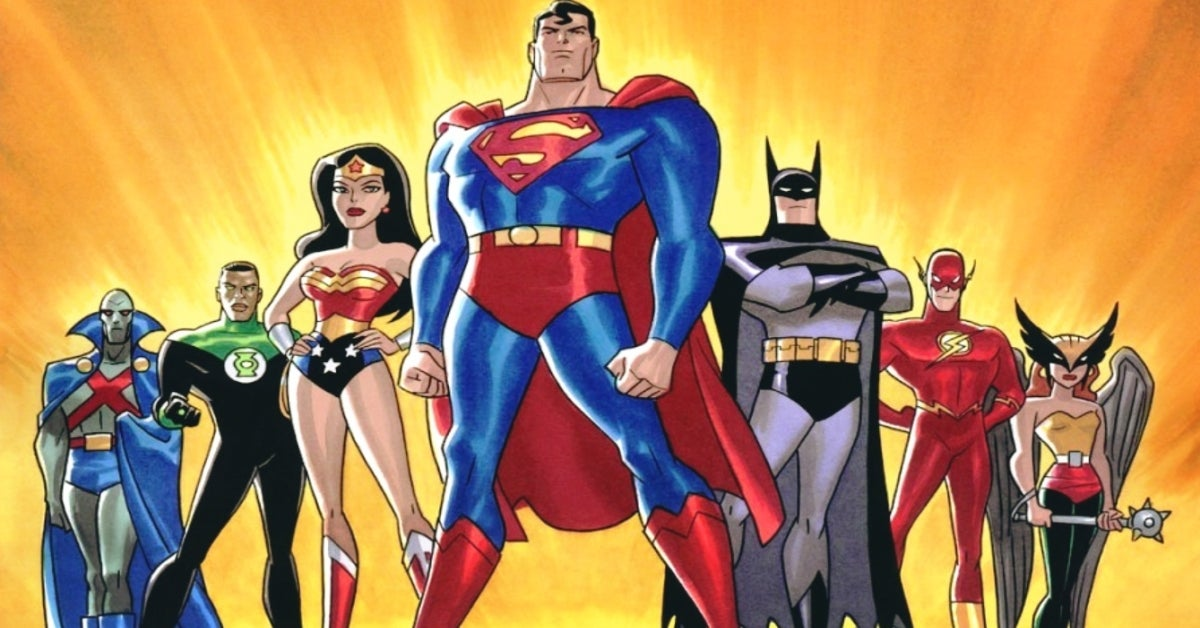 Justice League the Animated Series cast