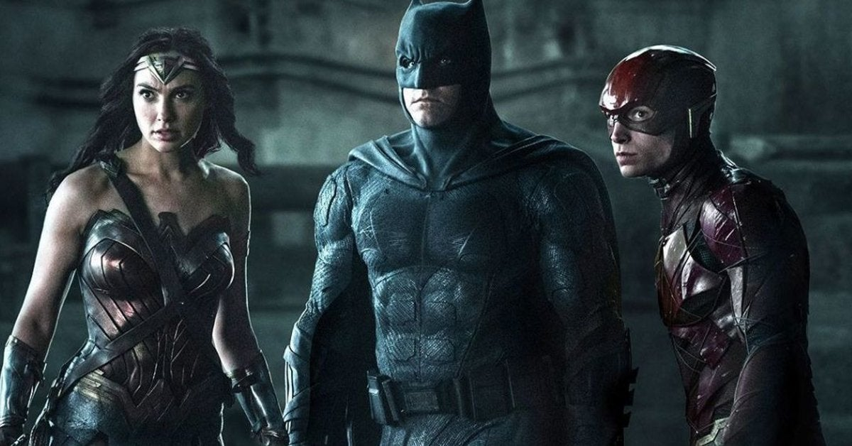 justice league wonder woman batman flash