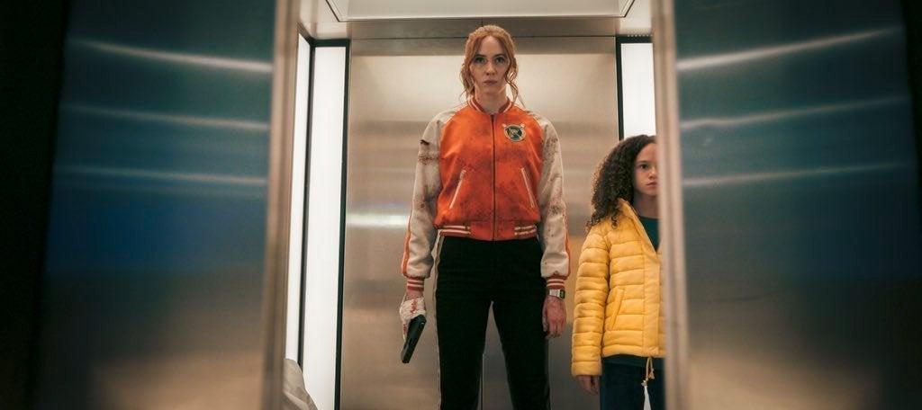 Karen Gillan in Gunpowder Milkshake (2021)