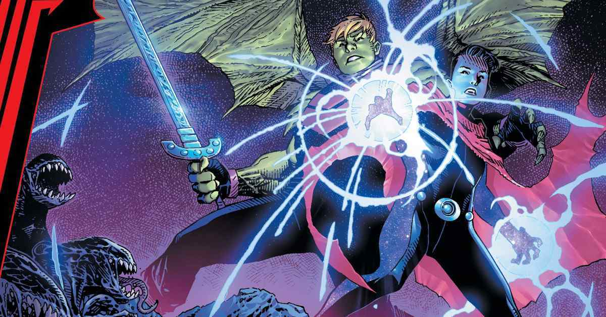 King in Black Wiccan Hulkling