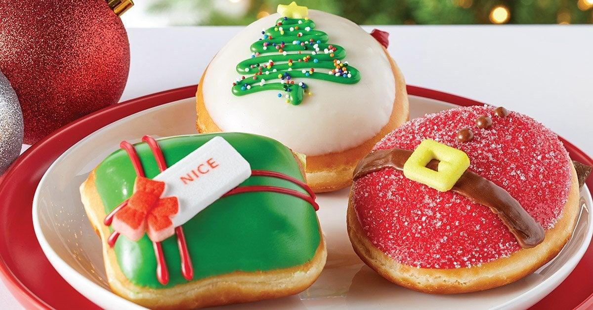 krispy kreme nicest holiday collection