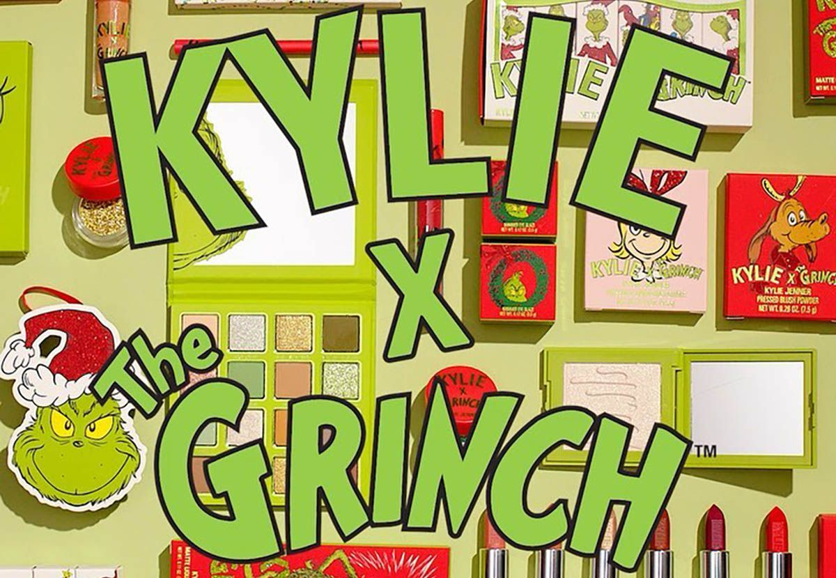 kylie cosmetics the grinch dr seuss