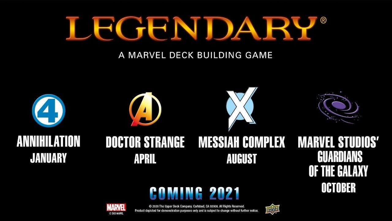 Legendary Marvel 2021 Sets