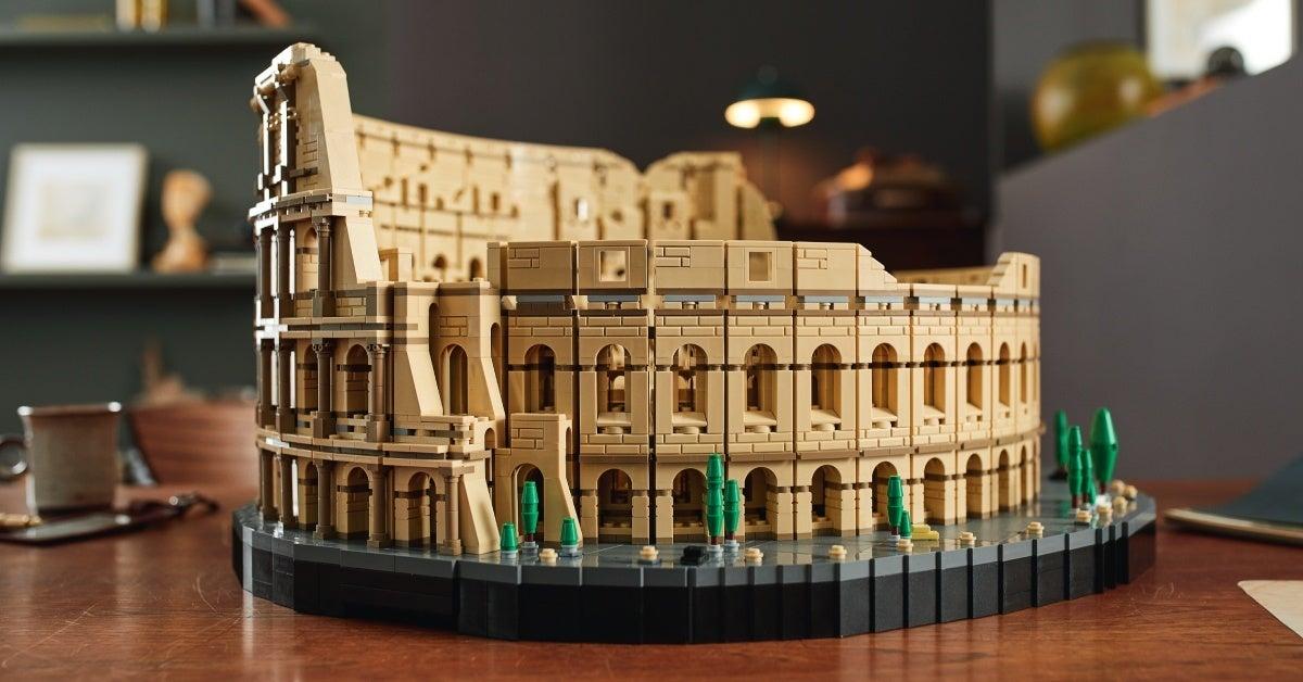 lego roman colosseum header