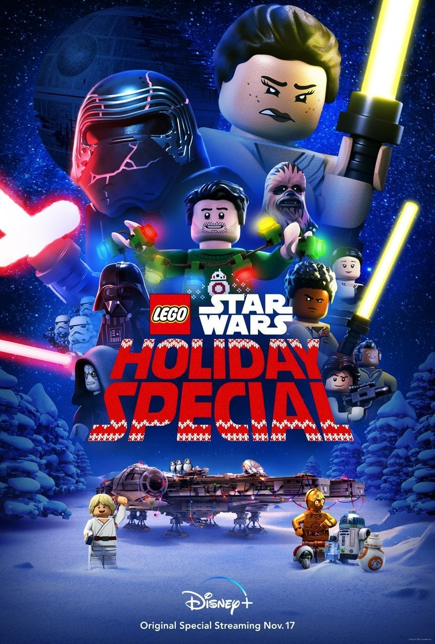 lego star wars holiday special poster
