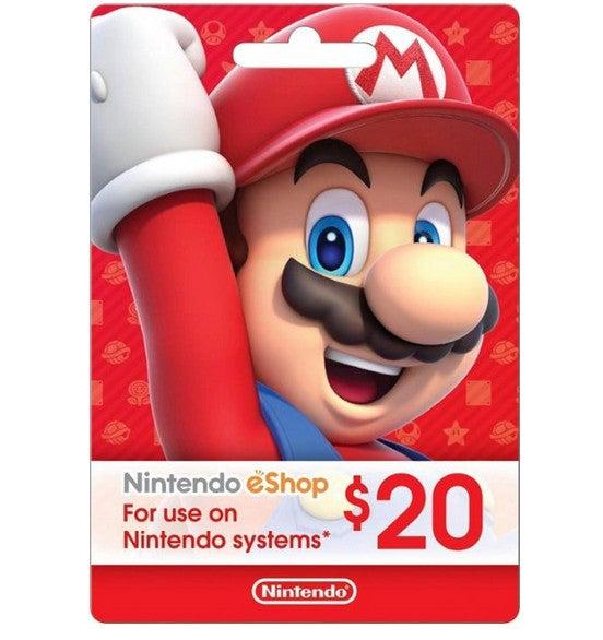 Mario eShop Switch