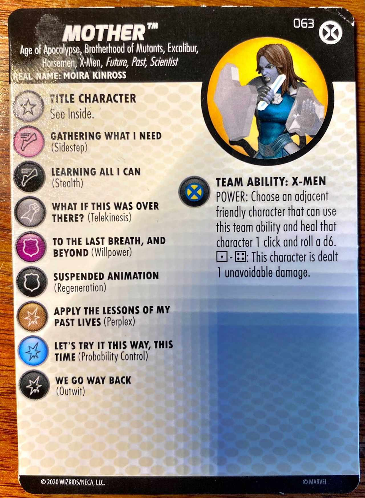 Marvel X-Men House of X HeroClix Mother Title Character (1)
