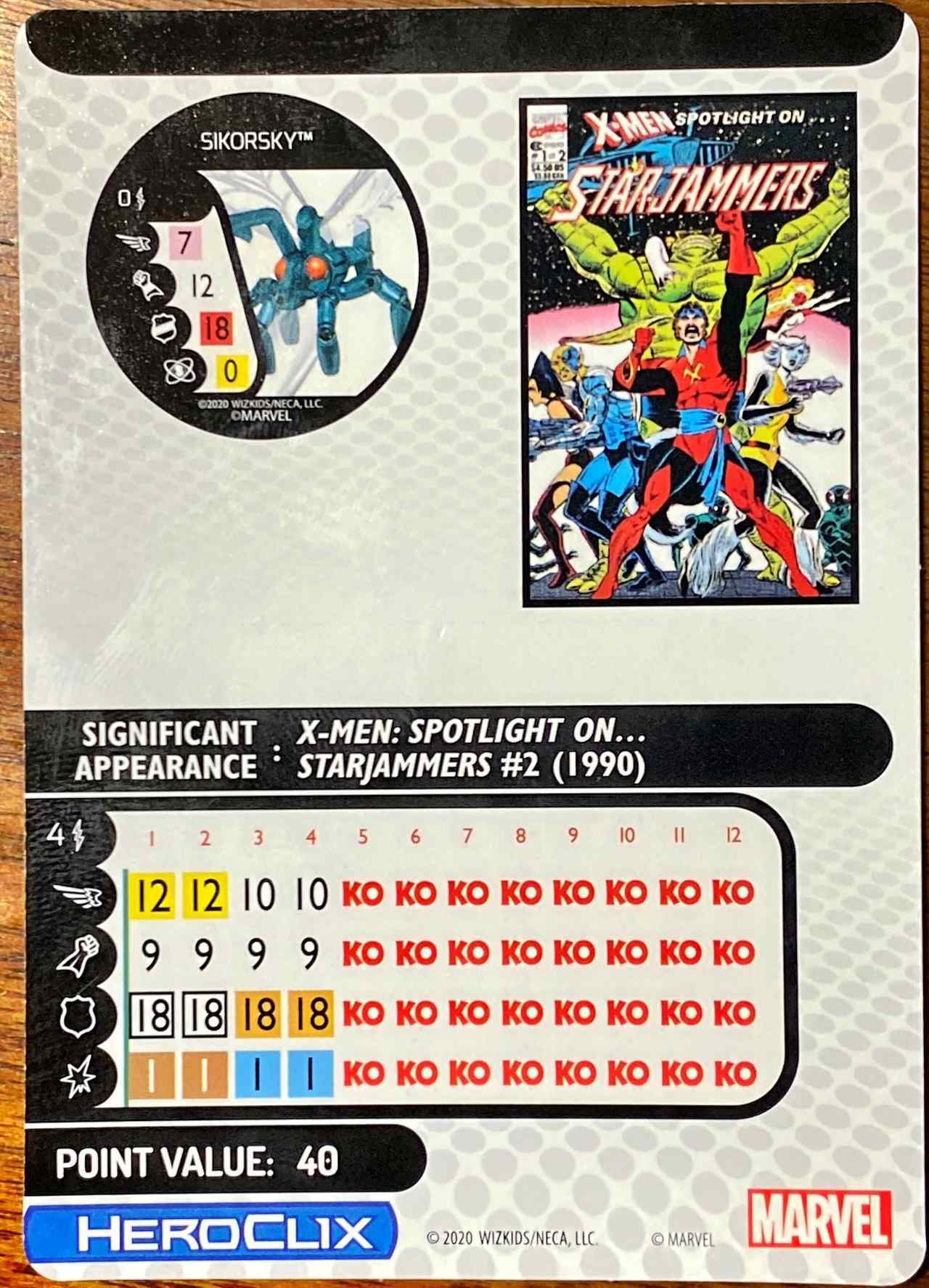 Marvel X-Men House of X HeroClix Waldo (2)