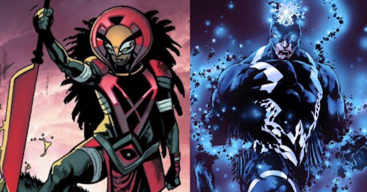 Marvel X of Swords Bei Blood Moon Doom Note Powers Black Bolt