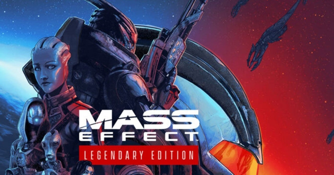 Mass Effect Legendary Edition Is Up For Pre-Order