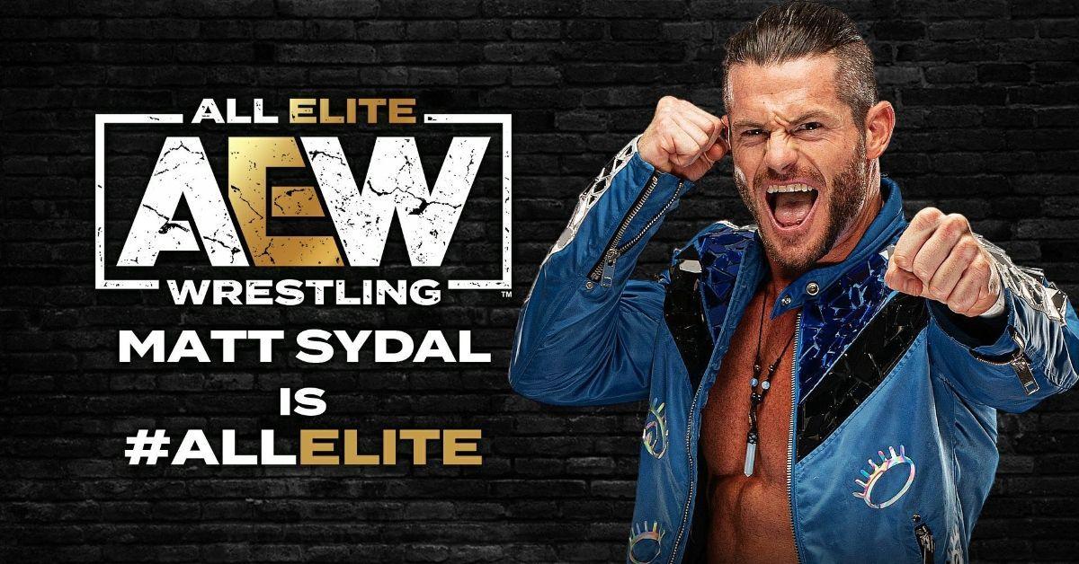 Matt Sydal All Elite Wrestling Signed AEW WWE Evan Bourne