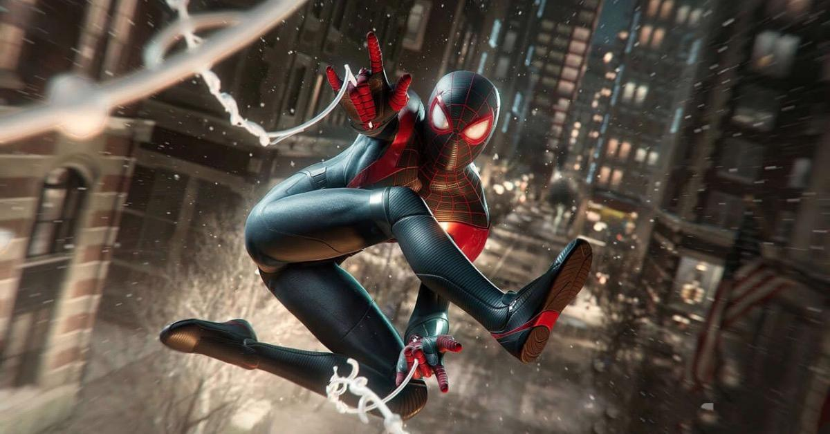 Miles Morales City Streets